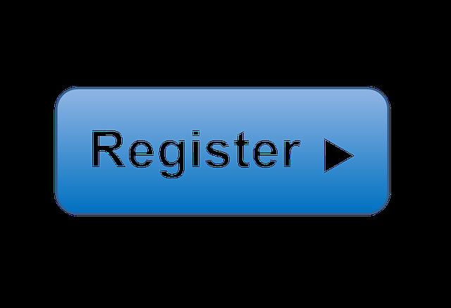 začátek registrace