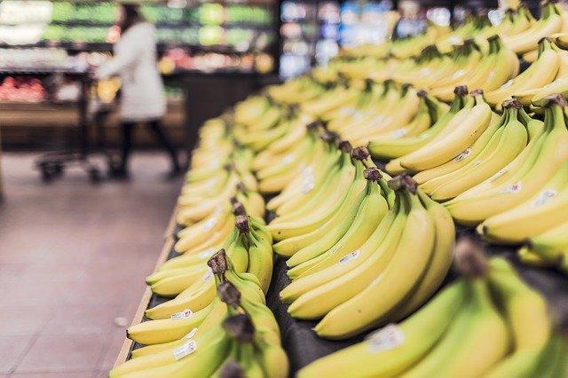 srovnané banány