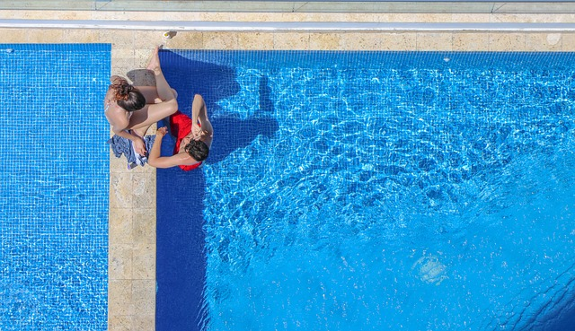 bazén na plavaní