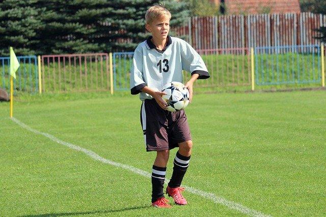 mladý fotbalista