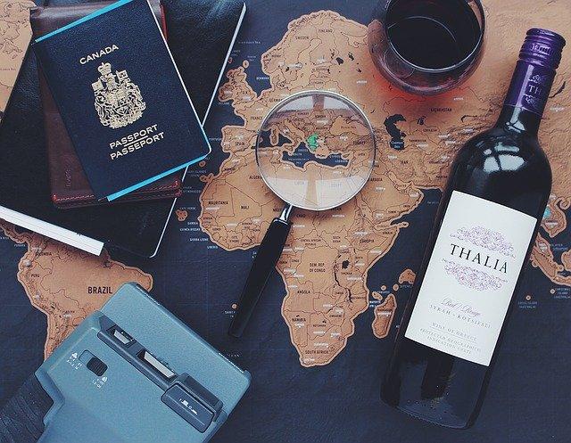 věci cestovatele