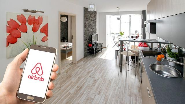 airbnb na mobilu