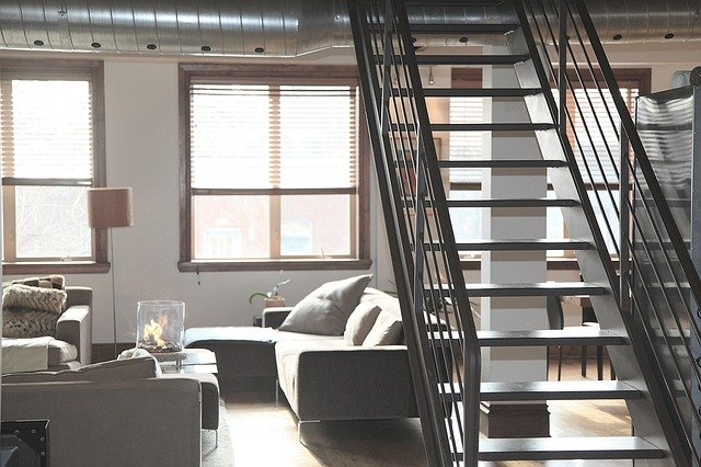 rovné schodiště