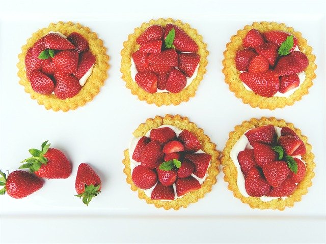 jahodové koláče