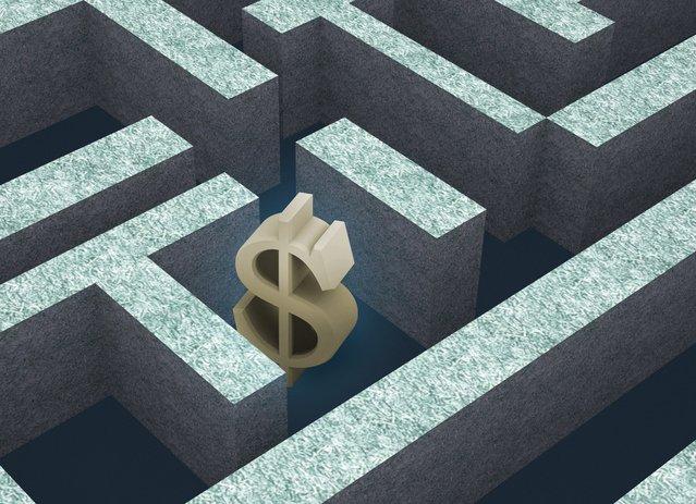 dolar v bludišti života