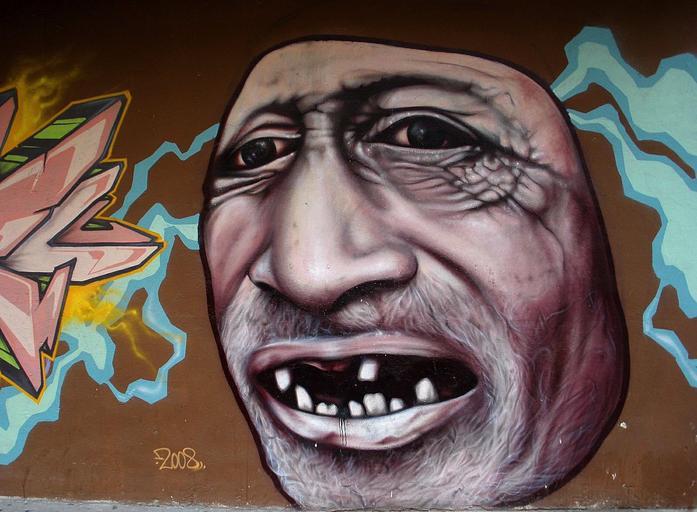 Zubní graffiti